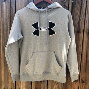 Under armour gray hoodie. Size S.